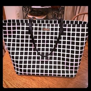🖤Black and White kate spade Tote🖤